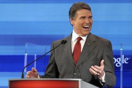 Rick Perry... (Photo: AFP)