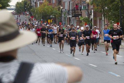 Différentes études évaluent que moins de 1 coureur... (Photo: Robert Skinner, La Presse)