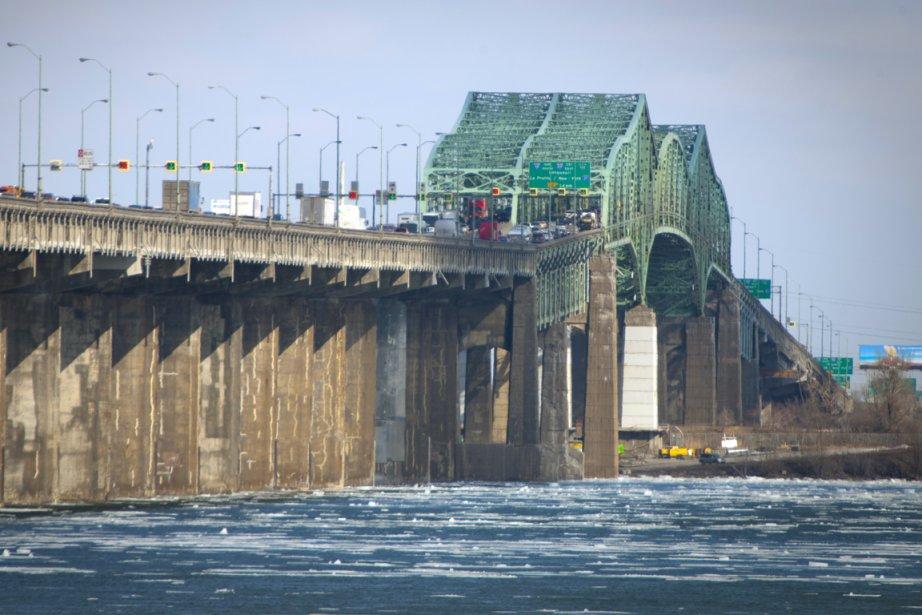 Le pont Champlain.... (Photo: André Pichette, Archives La Presse)