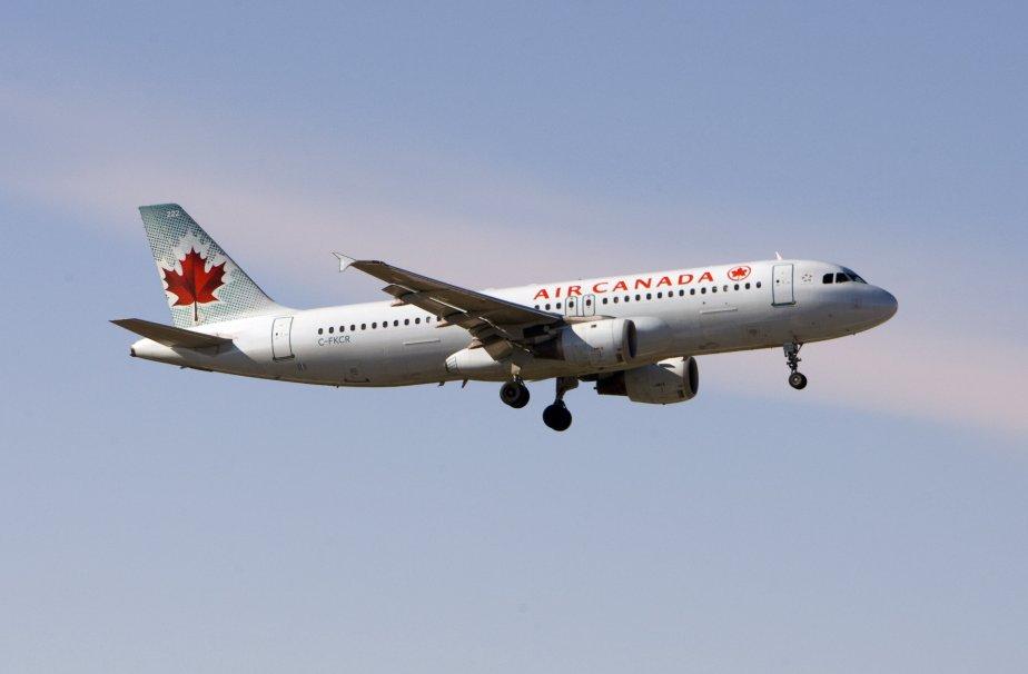 Air Canada a indiqué que l'un de ses appareils avait... (Photothèque Le Soleil)