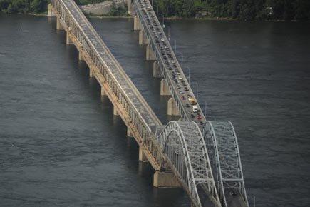 Le pont Mercier.... (Photo: Bernard Brault, Archives La Presse)