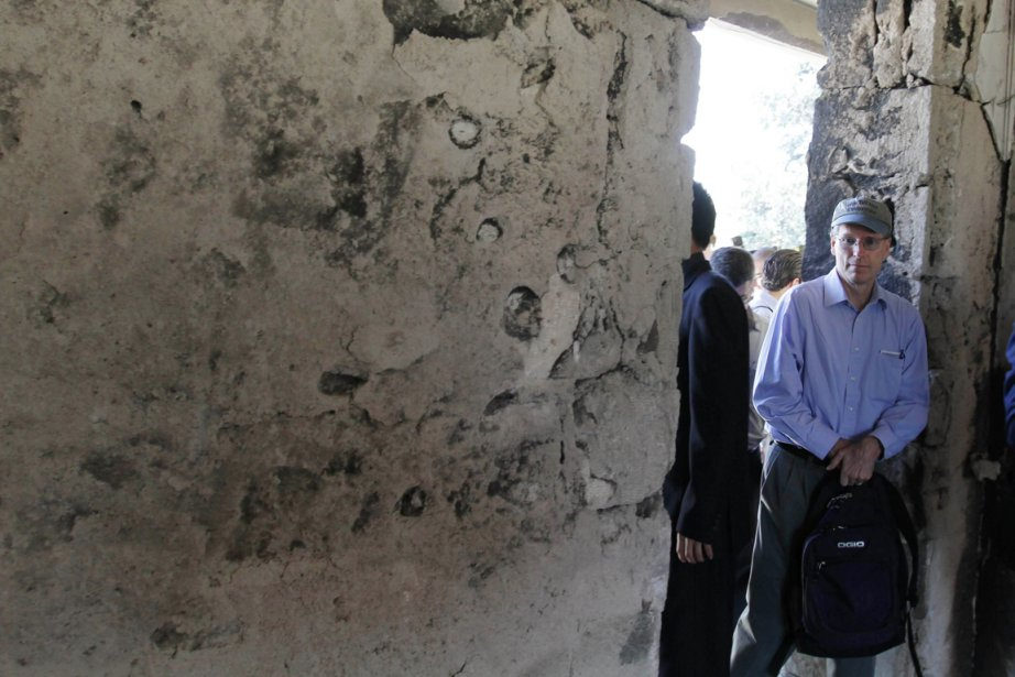 L'ambassadeur des États-Unis à Damas, Robert Ford, a... (Photo: Louai Beshara, Archives AFP)