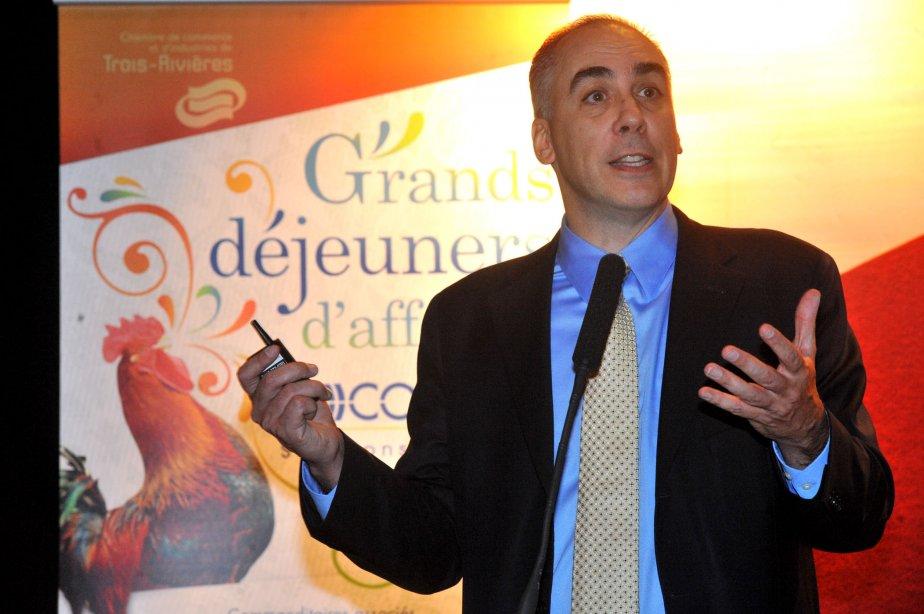 Le pdg de Druide informatique, André d'Orsonnens.... (Photo: Stéphane Lessard)