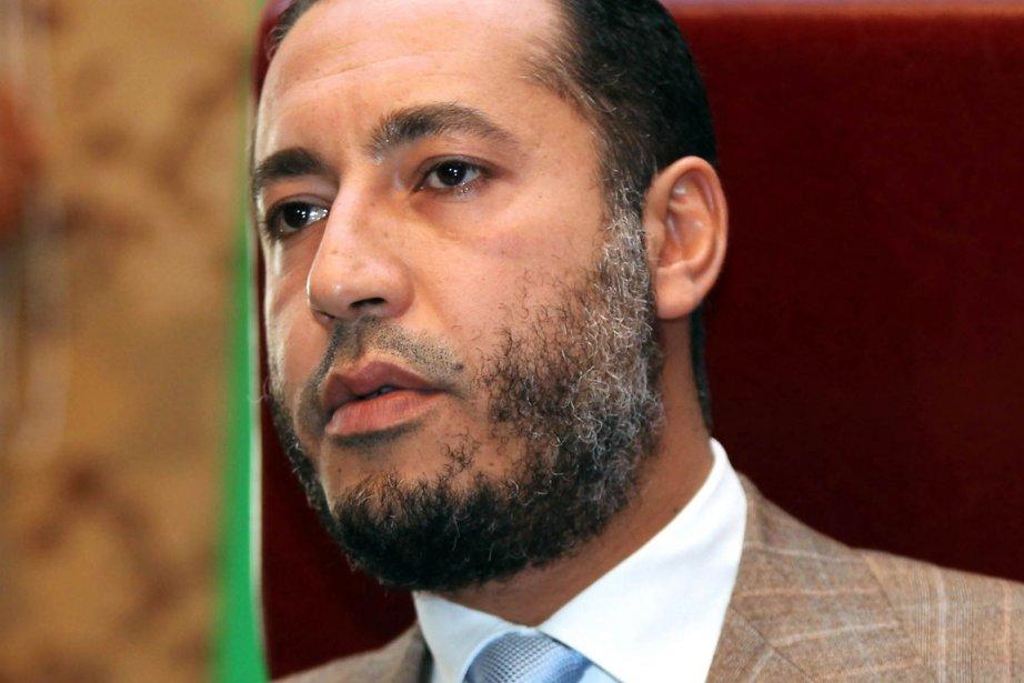 Saadi Kadhafi est recherché par les nouvelles autorités... (Photo: Mahmud Turkia, Archives AFP)