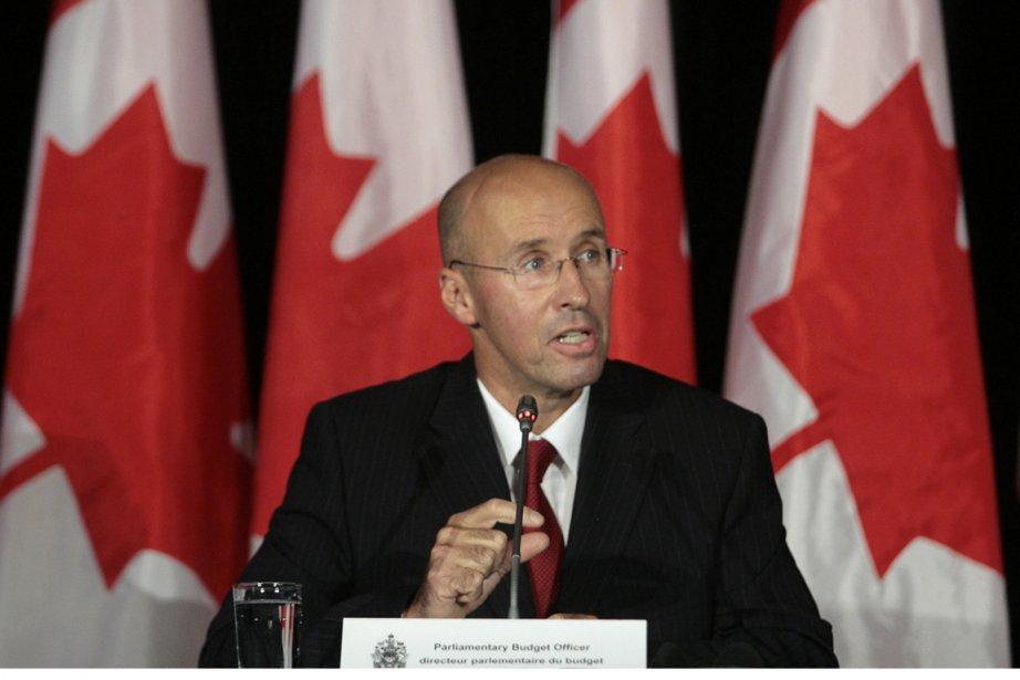 Le directeur parlementaire du budget, Kevin  Page.... (Photo: Christopher Pike, PC)
