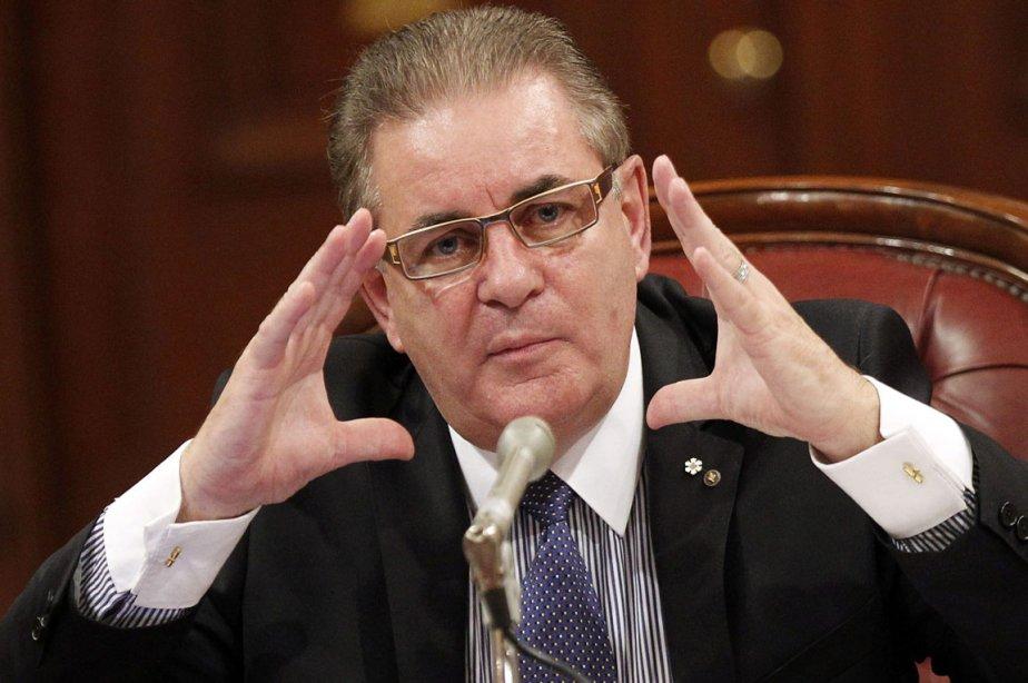 Le chef  de l'Unité anticollusion, Jacques Duchesneau,... (Photo: Mathieu Bélanger, Reuters)