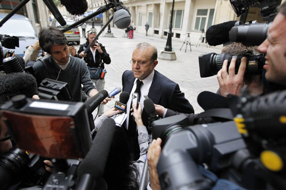 L'avocat des Laboratoires Servier, Hervé Termine.... (Photo: AFP)