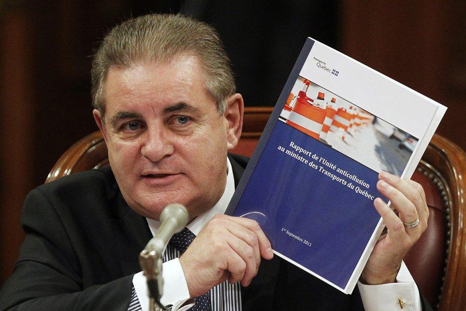 Le directeur de l'Unité anticollusion, Jacques Duchesneau.... (Photo: Reuters)