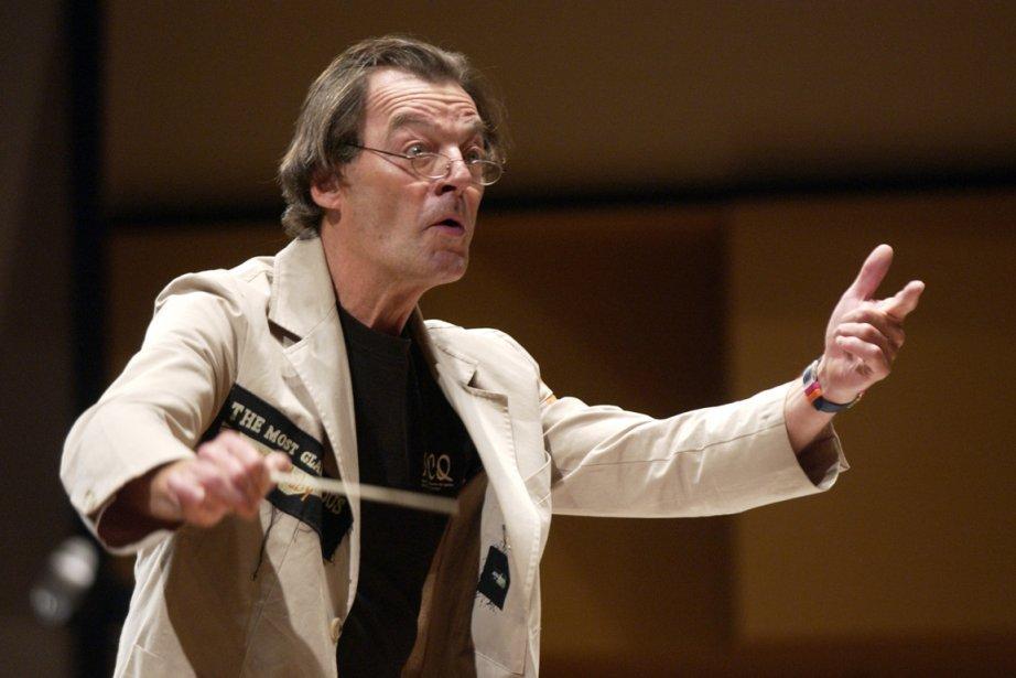 Le chef d'orchestre Walter Boudreau.... (Photo: André Pichette, Archives La Presse)