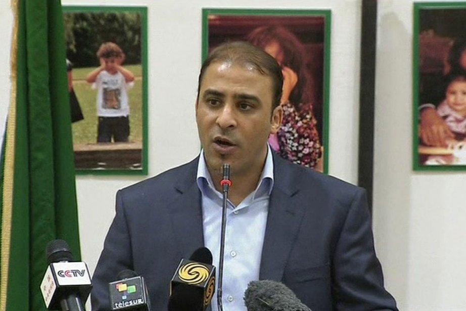 M. Ibrahim, qui s'exprime régulièrement sur la chaîne... (Photo: AP)