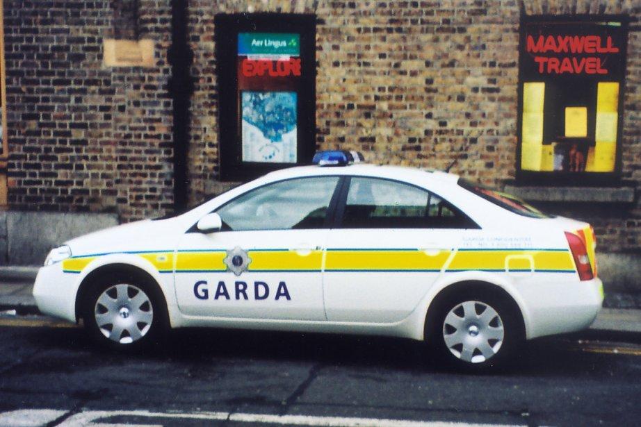 Une voiture de la police de Dublin en... (Photo d'archives, La Presse)
