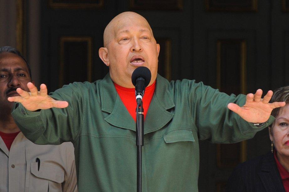 Le président du Vénézuela, Hugo Chavez.... (Photo: AFP)
