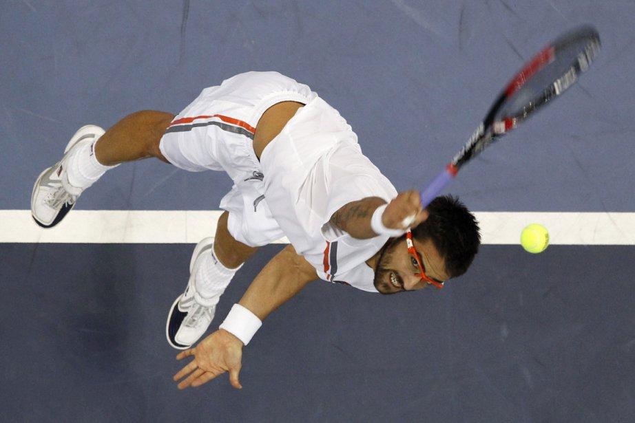 Tipsarevic, 17e mondial et tête de série numéro... (Photo: AP)
