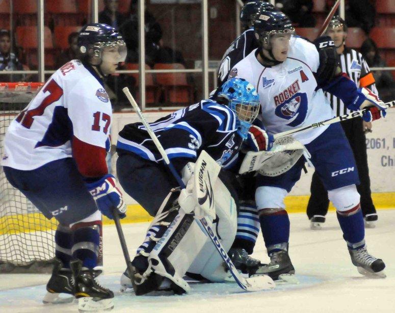 La violence au hockey, on aurait assez de... ((Photo Sylvain Dufour))