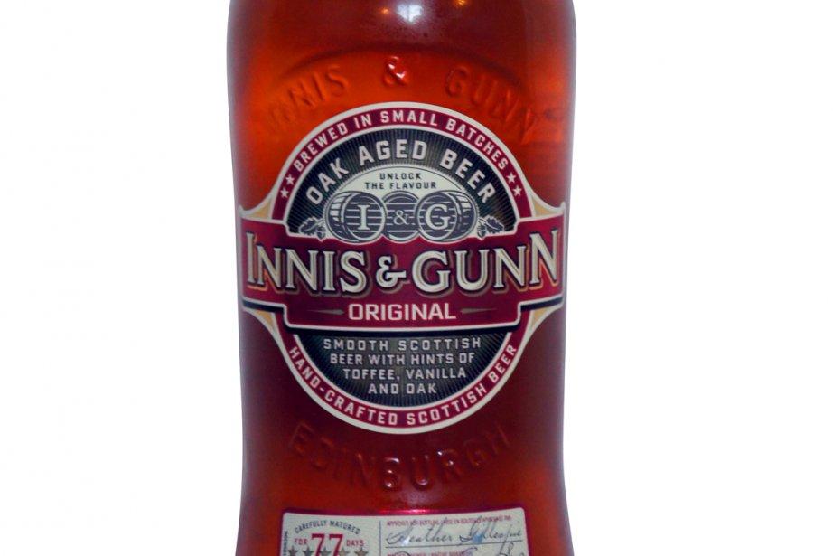 La bière Innis and Gunn Original... (Photo: La Presse)