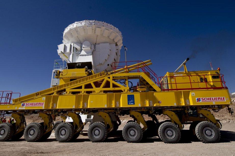 Sur les 66 radio-télescopes que comptera d'ici à... (Photo: AFP)
