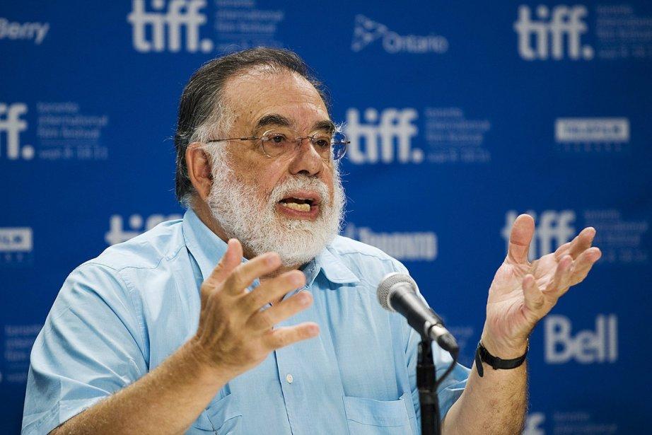 Le réalisateur américain Francis Ford Coppola au festival... (Photo Aaron Vincent Elkaim, PC)