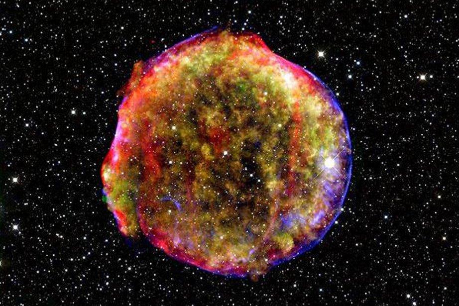 Les supernovae de type 1a sont considérées comme... (Photo: Archives AFP/Nasa)
