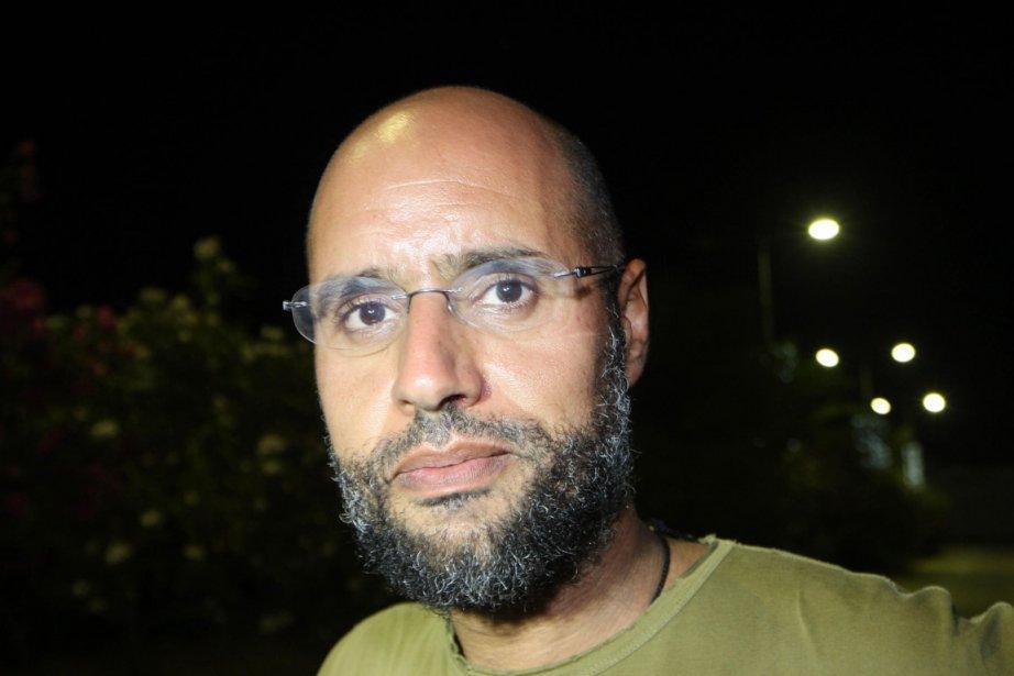 Saïf al-Islam, fils le plus influent de Mouammar... (Photo: Imed Lamloum, Archives AFP)