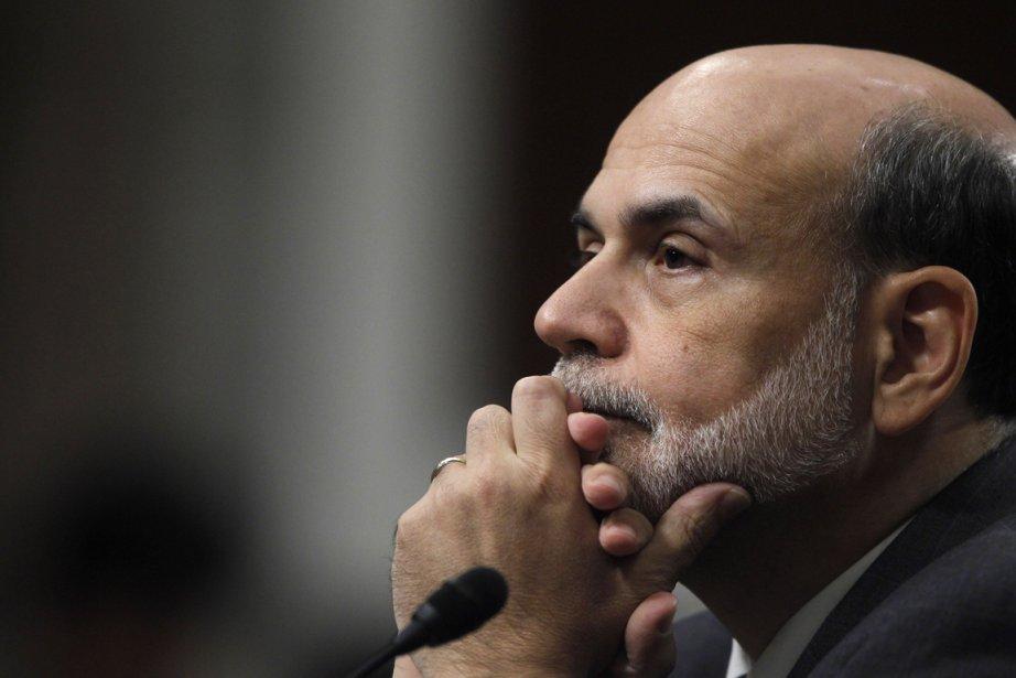 Le président de la Réserve fédérale américaine, Ben... (Photo Reuters)