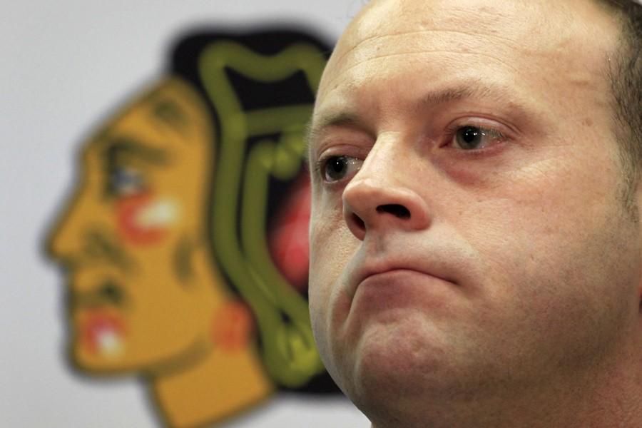 Le directeur général des Blackhawks de Chicago, Stan... (Photo: PC)