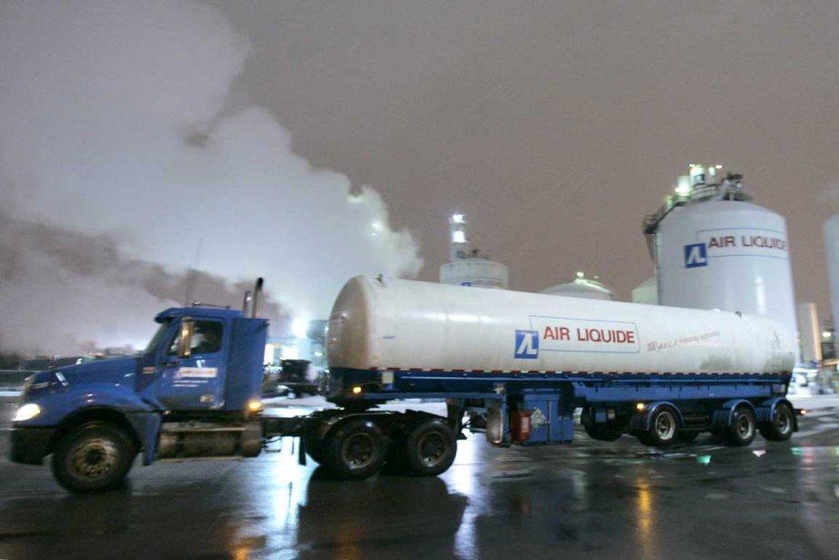 Air Liquide a annoncé l'acquisition de l'entreprise canadienne... (Photo Reuters)