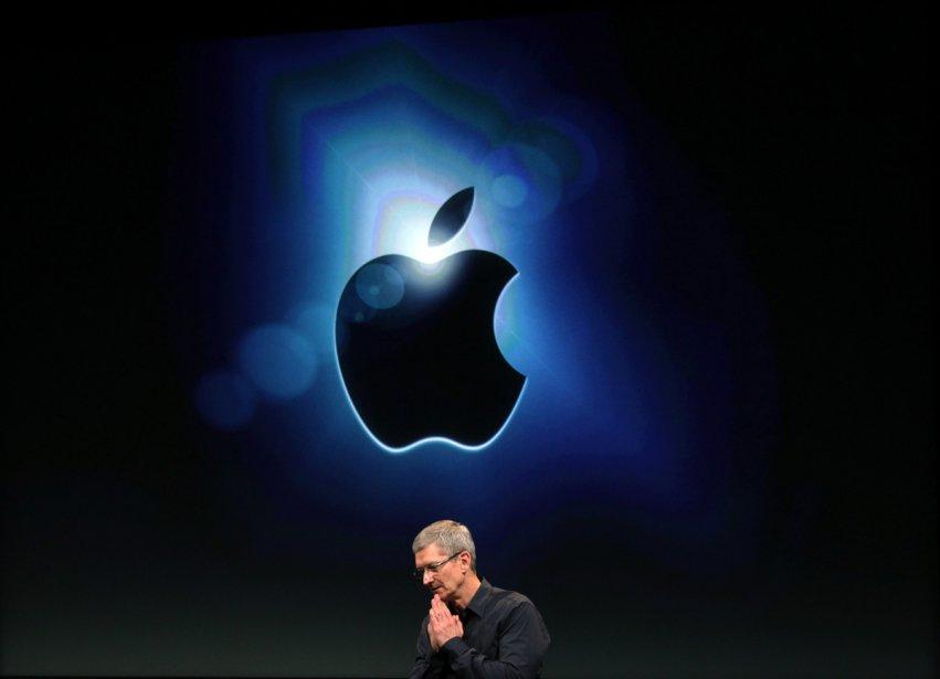 Le PDG d'Apple, Tim Cook.... (Photo: Reuters)