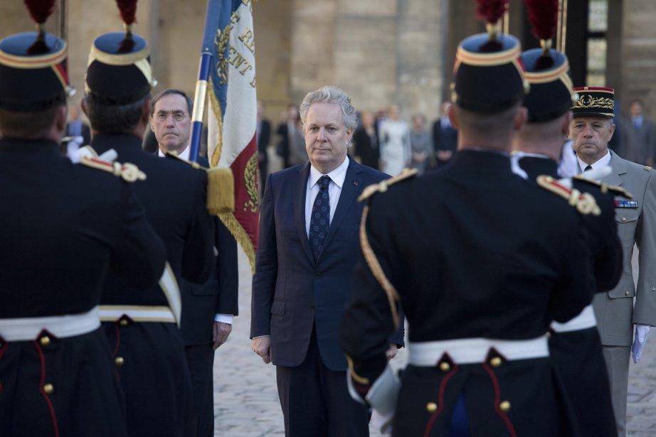 Le premier ministre du Québec, Jean Charest, en... (Photo fournie par le gouvernement du Québec)
