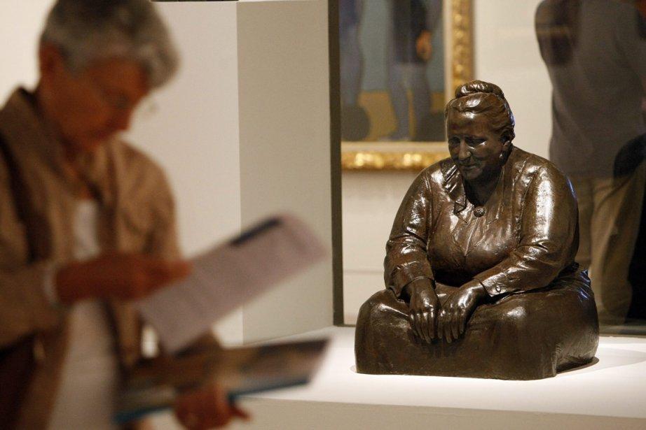 Datant de 1923, la sculpture de l'artiste américain... (Photo: AP)