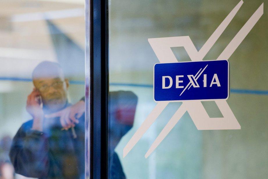 Les bureaux du siège social de Dexia à... (Photo: AP)