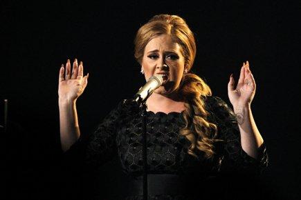 Adele... (Photo: Reuters)