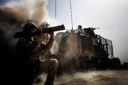 La Grande-Bretagne a déployé environ 9500 soldats en... (Photo: AP)