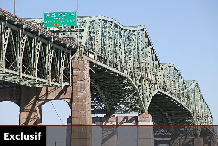 Inauguré en 1962, le pont Champlain a fait... (Photo: François Roy, La Presse)