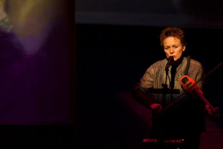 Laurie Anderson... (Photo fournie par L'Usine C)