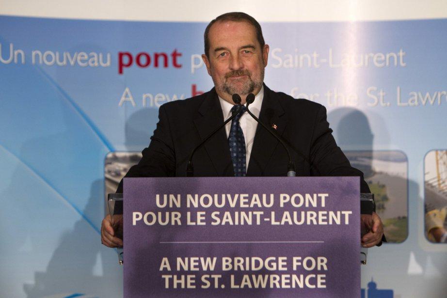 Le pont Champlain... (Photo: Robert Skinner, La Presse)