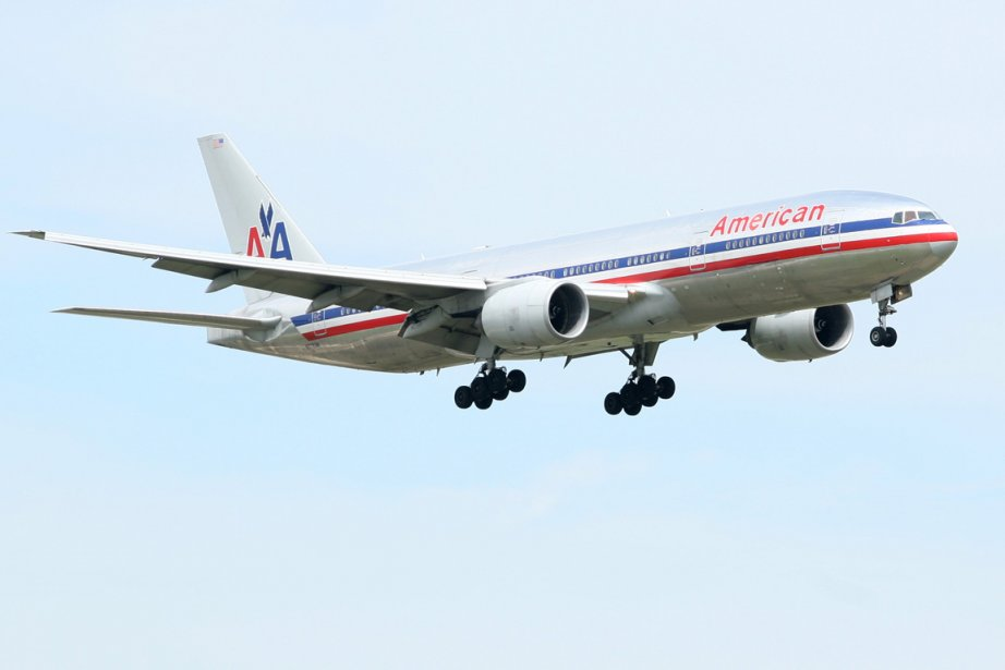 Un avion de la compagnie American Airlines... (Photo: Bloomberg News)