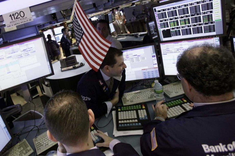 La Bourse de Toronto a bondi vendredi, profitant des... (Photo Associated Press)