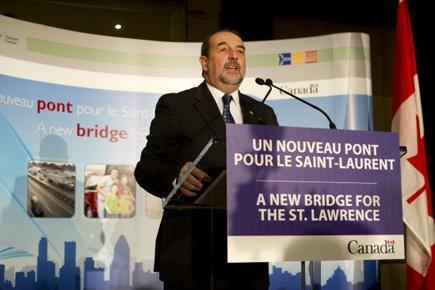 Le ministre des Transports Denis Lebel n'a pas... (Photo: Robert Skinner, La Presse)