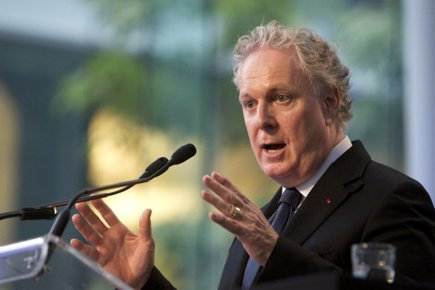 Jean Charest... (Photo: Robert Skinner, La Presse)