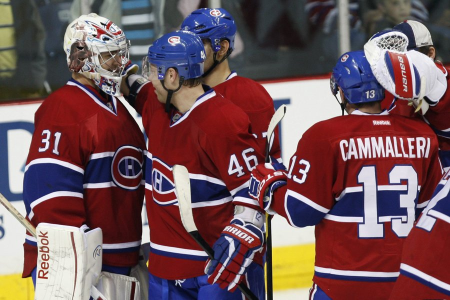 Le Canadien aura besoin que son gardien Carey... (Photo: PC)