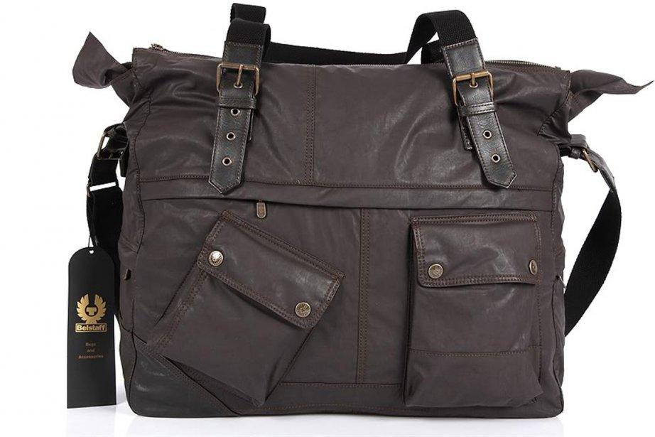 Le sac de voyage  Belstaff est disponible... (Photo fournie par Belstaff)