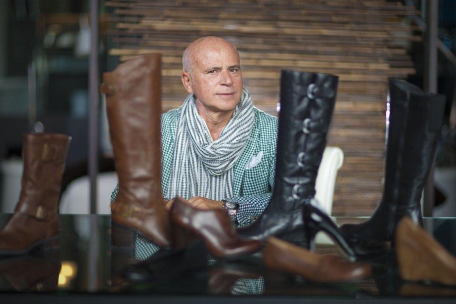Franco Sarto, créateur de chaussures pour le Château... (Photo: André Pichette, La Presse)