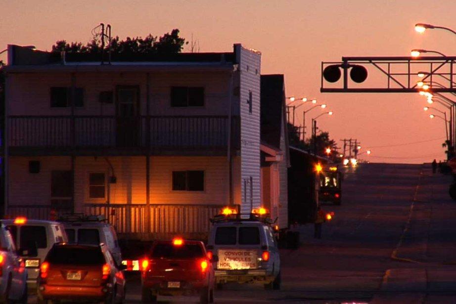 Ambiance de Malartic en Abitibi.... (Photo fournie par franC doc films)