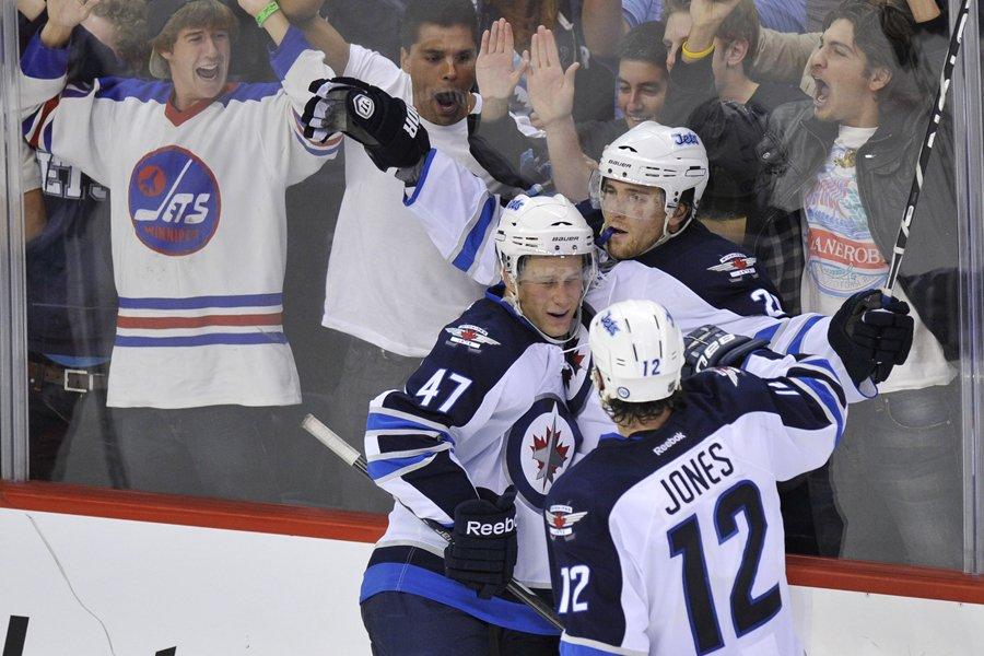 Est-ce que Winnipeg avait hâte de retrouver ses... (Photo: Reuters)