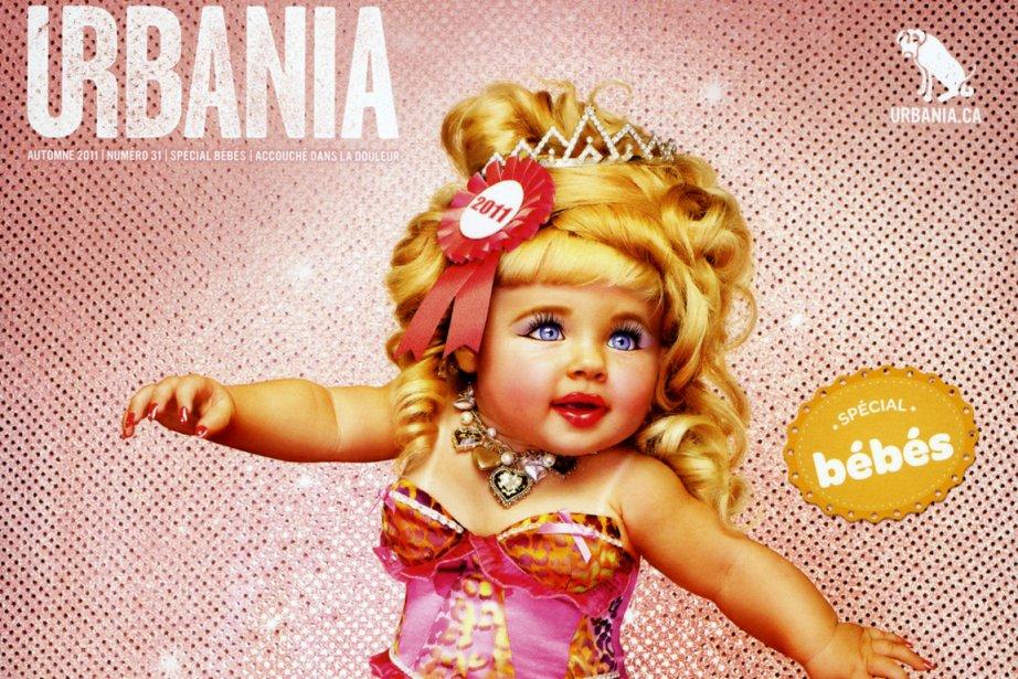 Le numéro spécial bébés d'Urbania... (Photo: fournie par Urbania)