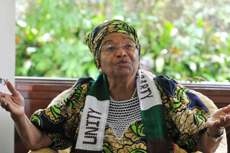 Ellen Johnson Sirleaf (notre photo), 72 ans, qui... (Photo: Issouf Sanogo, AFP)