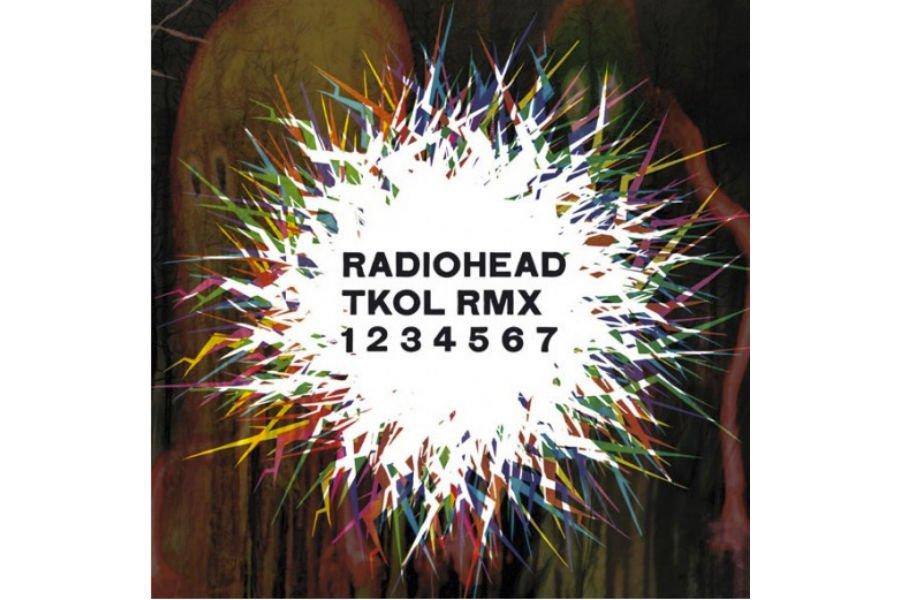 Pochette cd de Radiohead...