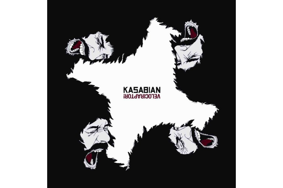 Pochette cd de Kasabian...