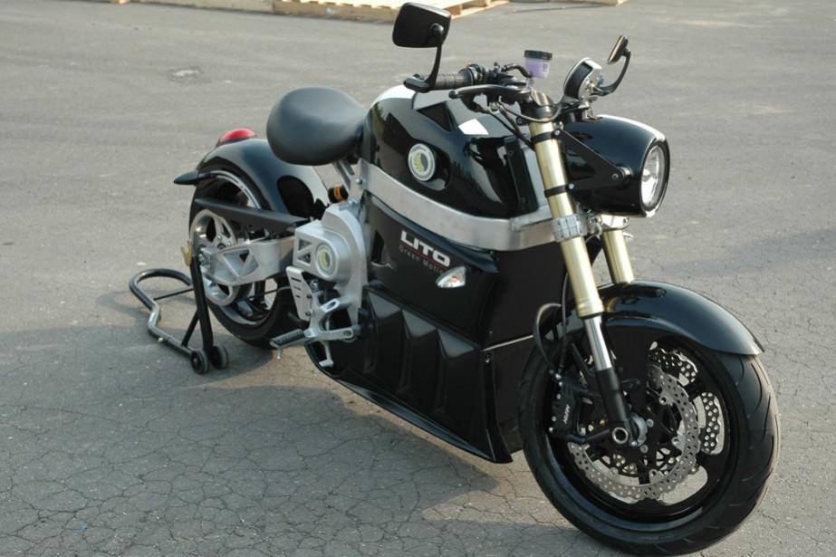La Lito Sora, moto électrique de fabrication québécoise.... (Photo fournie par Lito Green Motion)
