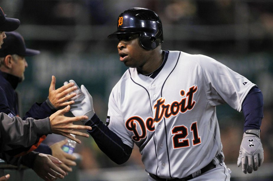 Le voltigeur des Tigers de Detroit Delmon Young... (Photo: Beck Diefenbach, Reuters)
